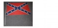 CONFEDERATE BATTLE FLAG ON WOODEN POLE – CIRCA 1950'S-60'S