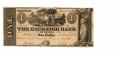 THE EXCHANGE BANK OF VIRGINIA $1 NOTE