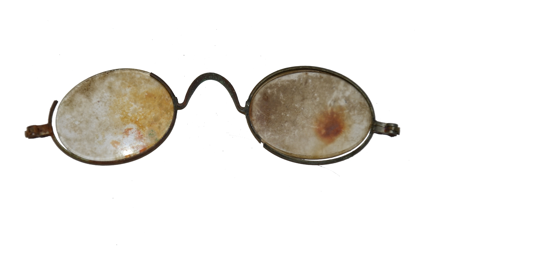 RELIC EYE GLASSES RECOVERED FROM GETTYSBURG
