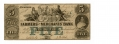 FARMERS' AND MERCHANTS BANK OF MEMPHIS $5 NOTE