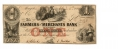 FARMERS' AND MERCHANTS BANK OF MEMPHIS $1 NOTE