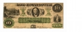 BANK OF HOWARDSVILLE, VIRGINIA $10 NOTE