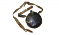 DOUBLE SPOUT TIN DRUM CONFEDERATE CANTEEN WITH PARTIAL SLING