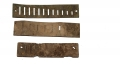 RELIC HARMONICA PARTS RECOVERED FROM GETTYSBURG