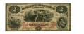 THE SOMERSET AND WORCESTER SAVINGS BANK, MARYLAND $2 NOTE