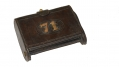 US KRAG CADET CARTRIDGE BOX/ ROCK ISLAND ARSENAL, 1904