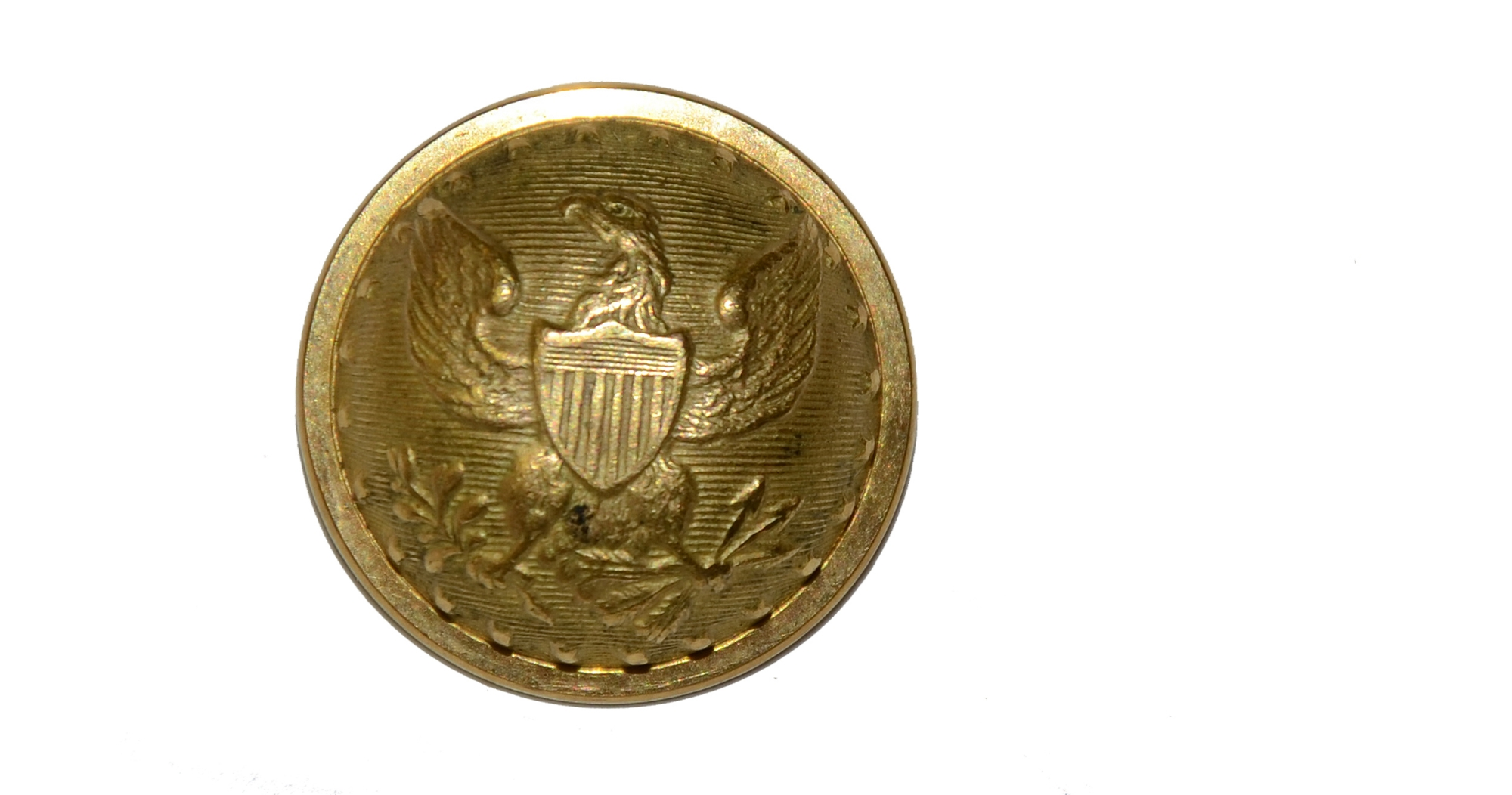 FEDERAL STAFF OFFICER'S BUTTON (GS5)