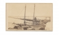 CDV VIEW OF LONG BRIDGE ACROSS THE POTOMAC BY BRADY