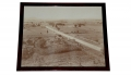 EXCELLENT FRAMED PANORAMA OF THE HIGH WATER MARK AT GETTYSBURG BY TIPTON