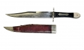 PATRIOTIC BOWIE KNIFE ID'D TO MEMBER OF 28TH NEW JERSEY
