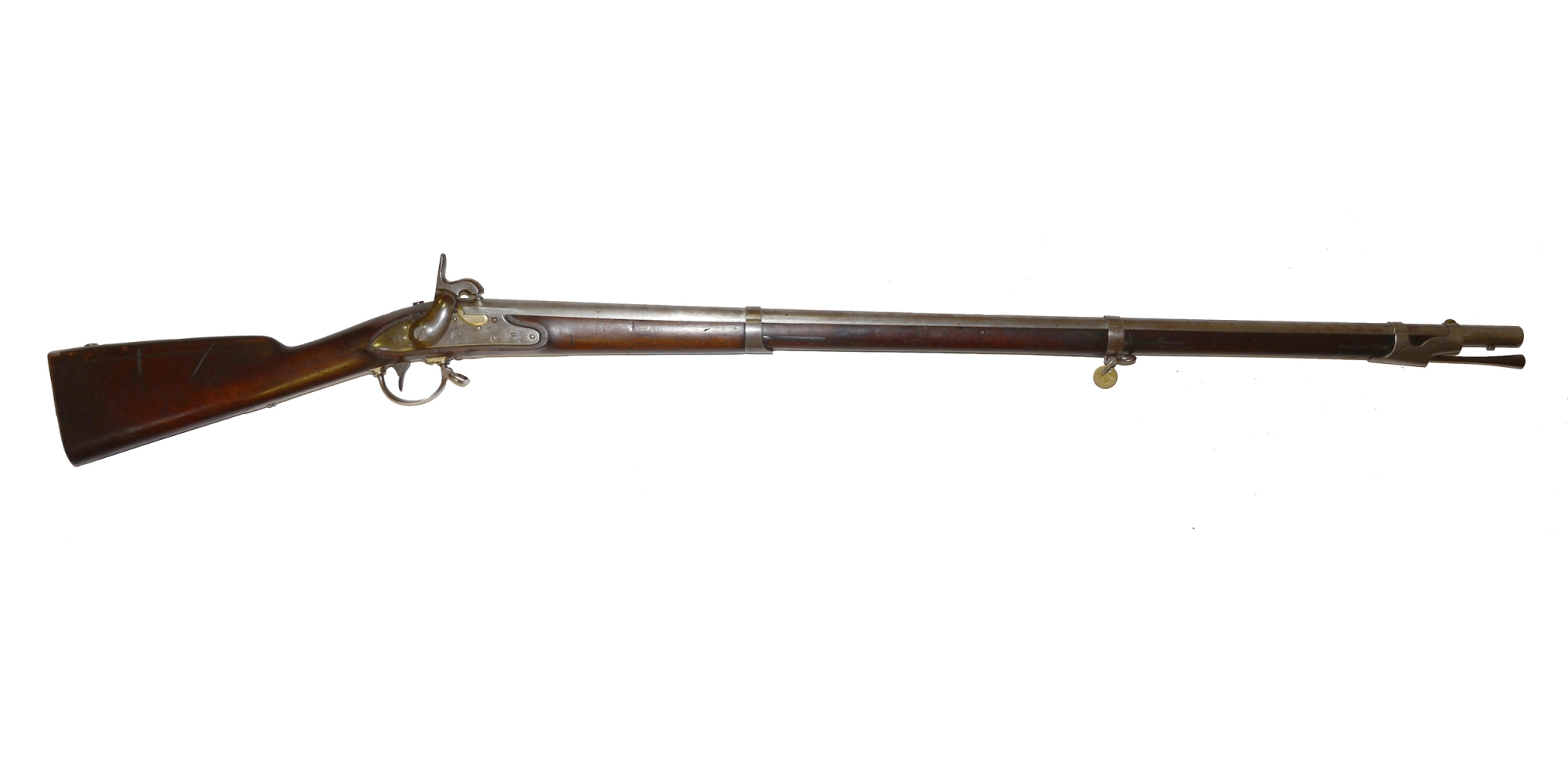 RIFLED POMEROY MODEL 1840 MUSKET CONVERTED TO PERCUSSION