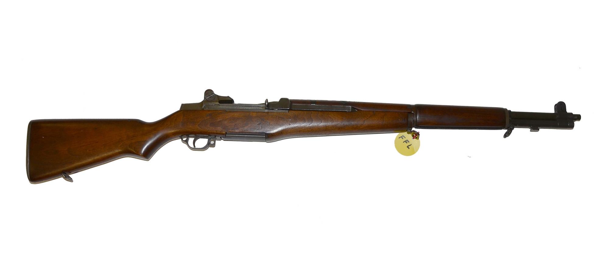 NEAR MINT SPRINGFIELD ARMORY M-1 GARAND SERVICE RIFLE FROM WWII