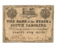 THE BANK OF THE STATE OF SOUTH CAROLINA 25 CENT NOTE