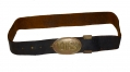 US ENLISTEDMAN'S CW BELT WITH PATTERN 1839 BELT PLATE