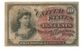 10 CENT NOTE U.S. FRACTIONAL CURRENCY