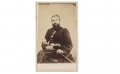 SIGNED SEATED VIEW OF 24TH NEW YORK MAJOR KILLED AT 2ND BULL RUN