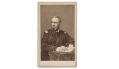 UNIDENTIFIED CDV OF UNION MAJOR OR LT. COL. WITH NEW ORLEANS BACK MARK