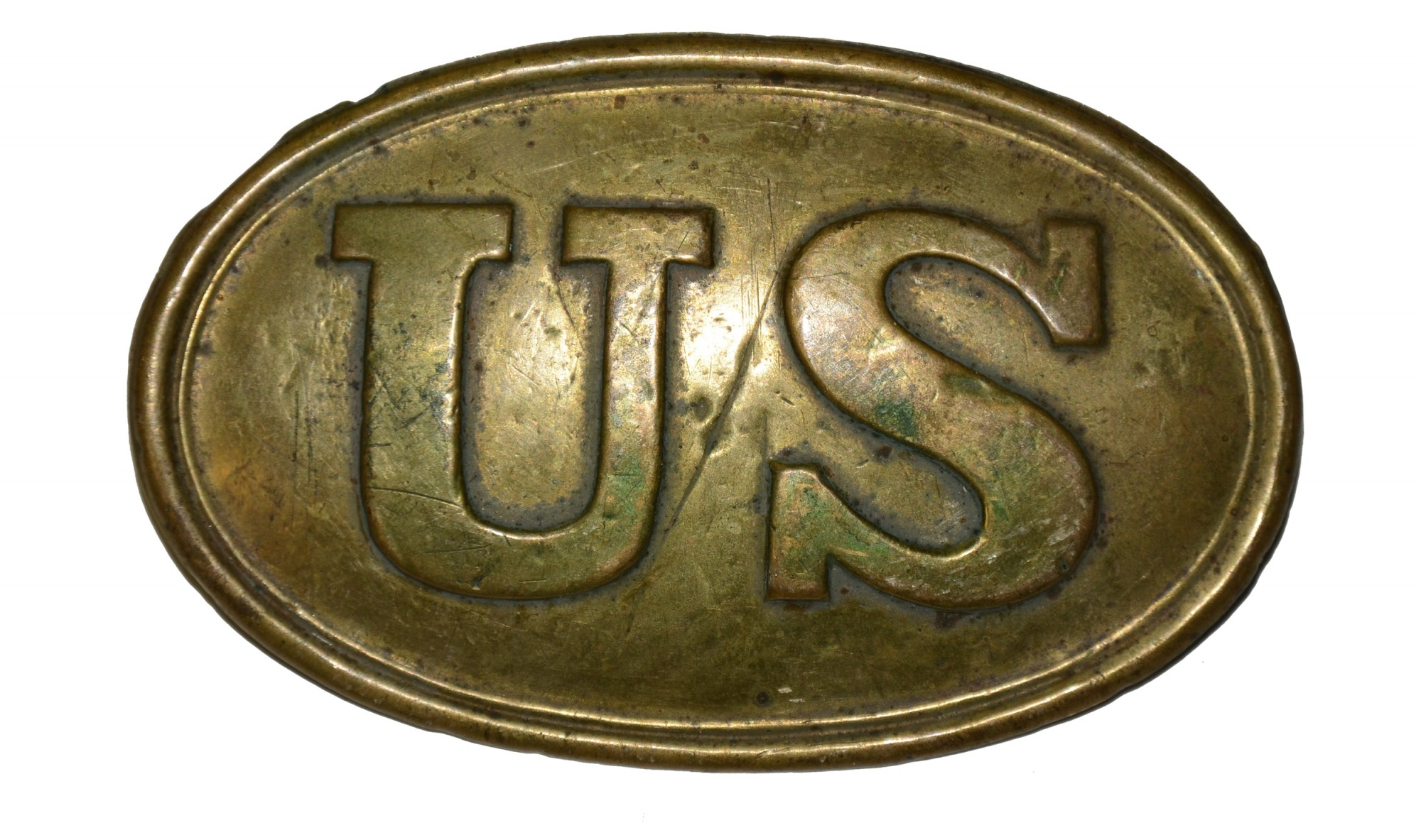 US PATTERN 1839 CARTRIDGE BOX PLATE