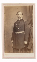 THREE QUARTER STANDING CDV OF IRISH BRIGADE LEADER THOMAS FRANCIS MEAGHER