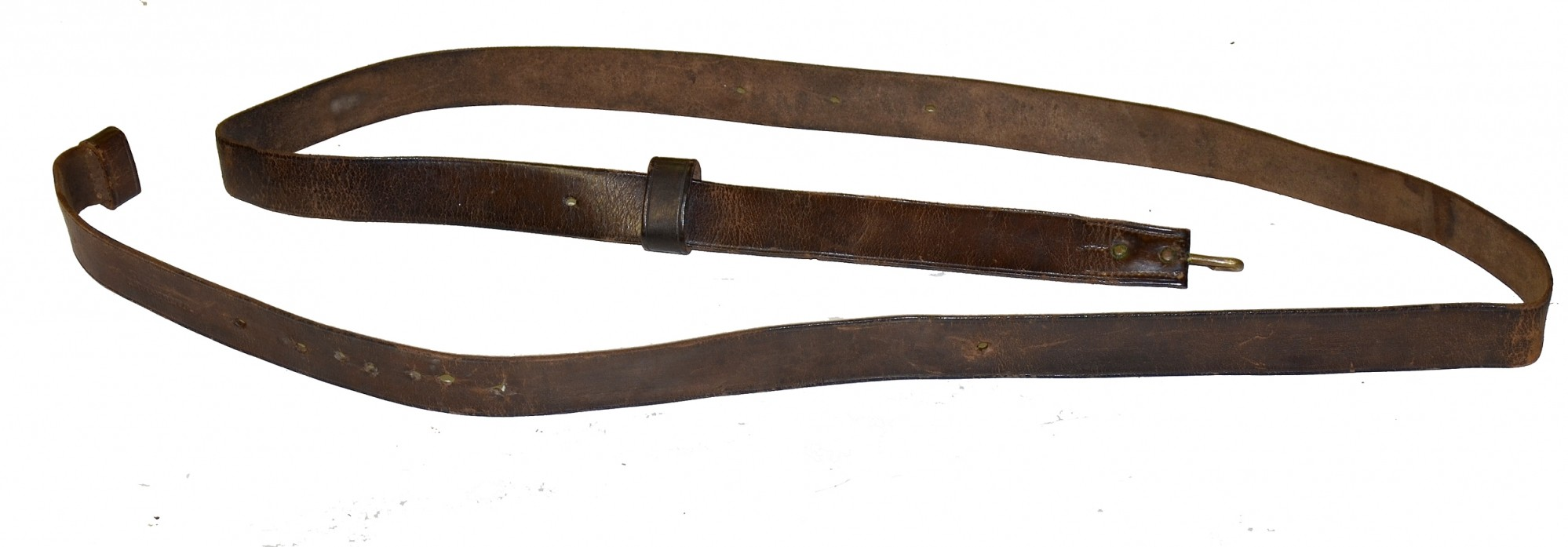 "US .58 CALIBER MUSKET RIFLE SLING, WITH ""WATERVLIET ARSENAL"" STAMPING"
