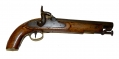 MAKER MARKED BRITISH SINGLE SHOT HORSE PISTOL