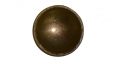 MILITIA BRASS DOME BUTTON, CIRCA 1840