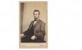 SEATED CDV VIEW OF PRESIDENT ABRAHAM LINCOLN BY BRADY