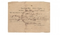 RARE CONFEDERATE ENROLLMENT DOCUMENT AND OATH OF ALLEGIANCE DOCUMENT FOR AN ALABAMA CITIZEN