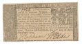 COLONIAL MARYLAND FOUR DOLLAR NOTE -- 1774