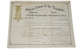 G.A.R. DOCUMENTS – 39TH NEW JERSEY INFANTRY SOLDIER