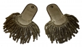 PAIR OF EARLY INFANTRY DRESS EPAULETTES