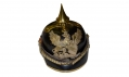 "IMPERIAL GERMANY MODEL 1894 BADEN PICKELHAUBE, NCO DRAGOON WITH ""LANDWEHRKREUZ"" (RESERVES)"