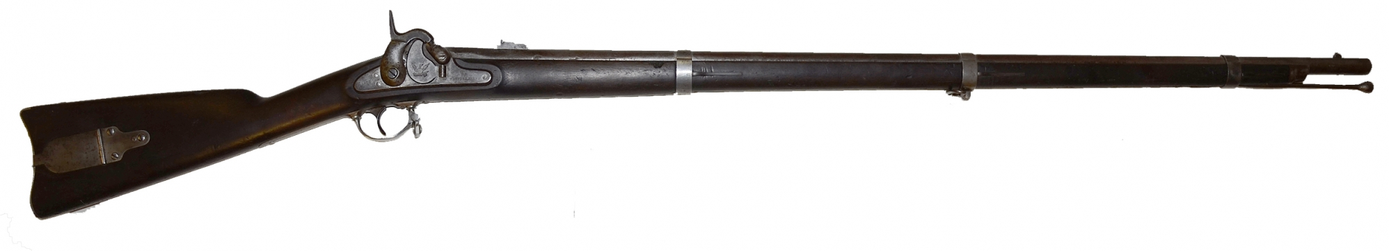 HARPERS FERRY M1855 PERCUSSION RIFLE-MUSKET, DATED 1859/60