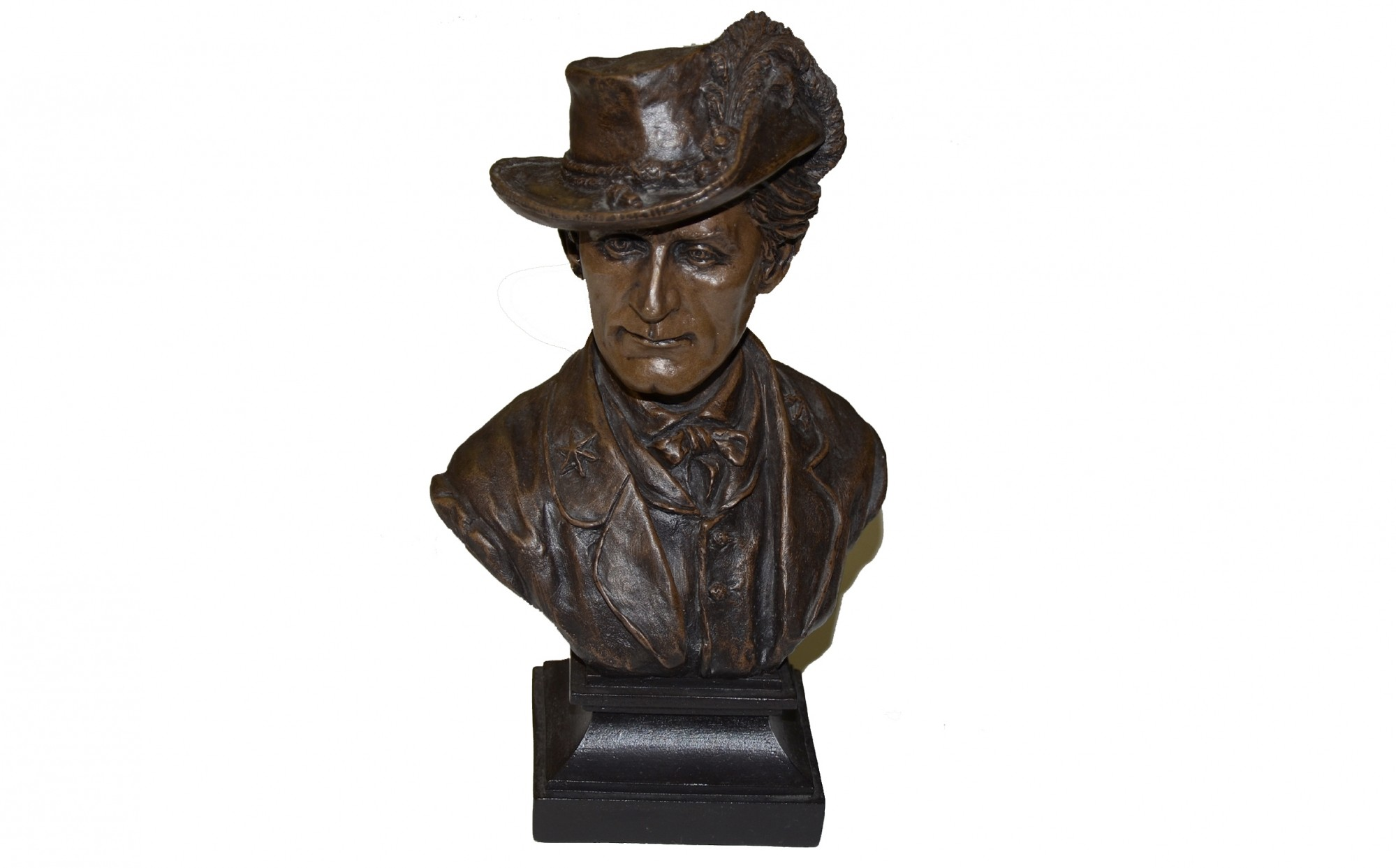 GENERAL JOHN SINGLETON MOSBY BUST BY RON TUNISON