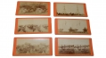 SIX TIPTON & MYERS STEREO CARDS OF THE GETTYSBURG BATTLEFIELD
