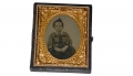 NINTH PLATE TINTYPE OF YOUNG BOY