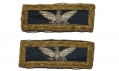 LATE CIVIL WAR COLONEL OF STAFF SHOULDER STRAPS