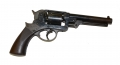 STARR ARMS CO. DOUBLE ACTION 1858 ARMY REVOLVER, CIVILIAN MODEL