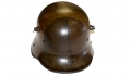 "WORLD WAR ONE MODEL 1916 GERMAN ""TORTOISE SHELL"" CAMOUFLAGE HELMET"