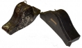 PAIR OF CASED NAVAL BI-CORNS ID'D TO SURGEON WITH SERVICE FROM CIVIL WAR TO WORLD WAR ONE