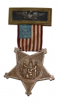 GAR NATIONAL OFFICER'S MEMBERSHIP BADGE