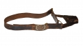 U.S. HEAVY ARTILLERY SWORD BELT, WITH M1851 NCO BUCKLE
