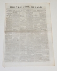NEW YORK HERALD, MAY 12, 1865 EDITION; LINCOLN ASSASSINATION