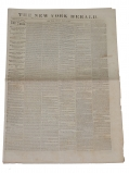 NEW YORK HERALD - MAY 14, 1865 EDITION; LINCOLN ASSASSINATION