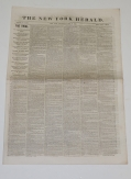 THE NEW YORK HERALD - MAY 17, 1865 EDITION; LINCOLN ASSASSINATION, TRIAL OF THE CONSPIRATORS