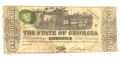THE STATE OF GEORGIA, GEORGIA, $1 NOTE