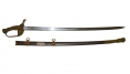 PRESENTATION GRADE IMPORT MODEL 1850 STAFF & FIELD OFFICER'S SWORD ID'D TO 51ST PENNSYLVANIA OFFICER, LT. HARRY JACOBS
