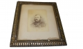 FRAMED ALBUMEN PHOTOGRAPH OF CIVIL WAR ERA NAVY OFFICER