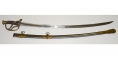 US MODEL 1840 CAVALRY OFFICER'S SABER WITH SHORT BLADE