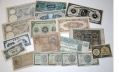 SMALL LOT OF WORLD WAR TWO CURRENCY